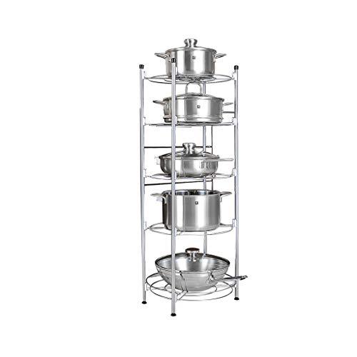 ZLZ- Multi-layer rack Kitchen storage rack Carbon steel Storage shelf Five layers Simple