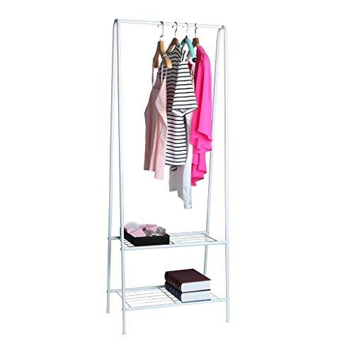 Fullfun Drying Clothing Rack Coat Organizer Storage Shelving Unit Entryway Landing Bedroom Storage Shelf A