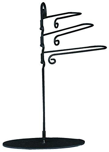 Manual 3-Tier Metal Towel Rack 18-Inch