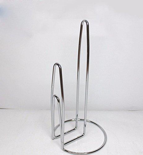 SAEJJ-Toilet Roll Holder Bathroom metal towel rack kitchen paper towel holder