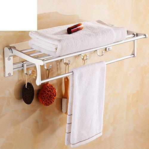 Space aluminum towel rackBathroom shower bathroom accessoriesSetMetal Towel rackStorage rack