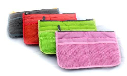 Purse Organizer  Insert Handbag Organizer  Insert Pink