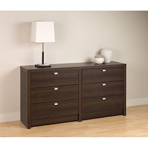 Series 9 Designer - 6 Drawer Dresser Espresso