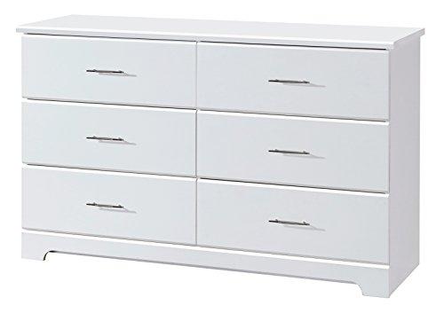 Storkcraft Brookside 6 Drawer Dresser White