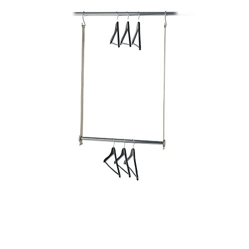 neatfreak 5616-ST closetMAX Double Hanging Expandable MAXbar