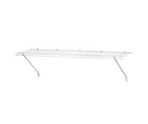ClosetMaid 3 Ventilated Wire Shelf White 1031100