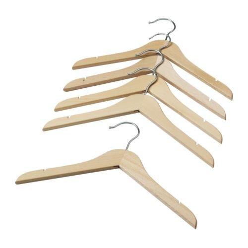 Ikea 15 packs Childrens coat-hanger natural