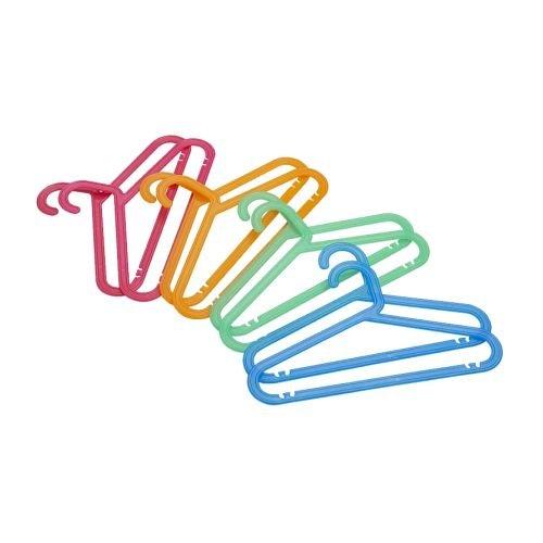Ikea 40 packs Childrens coat-hanger assorted colors