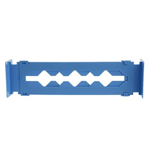 Pink-day Adjustable Drawer Dividers - Drawer Stretch Clapboard Divider Necessities DIY Storage Organizer Blue