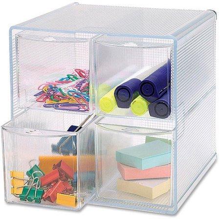 Removable Storage Drawer Organizer Clear