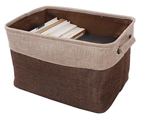 PET SHINEWINGS Foldable Storage Box Cube Cloth Closet Dresser Drawer Organizer Basket Bins Containers