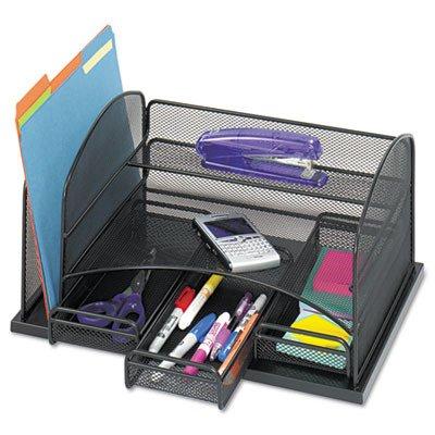 SAF3252BL - Safco Three Drawer Organizer