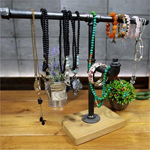 LightInTheBox Industrial Pipe Dresser Organizers Retro Jewelry Shelf Desktop Organizers