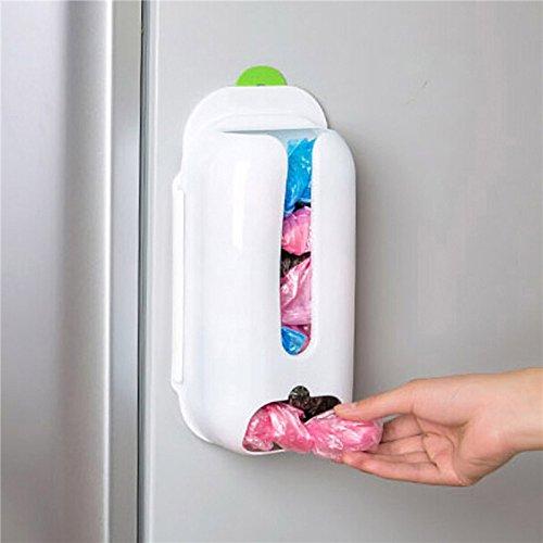 MiniInTheBox Kitchen Wall Mount Grocery Bag Dispenser Cabinet Drawer Organizer Storage Bag Holder