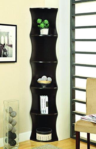 Coaster Home Furnishings 801182 Casual Corner Shelf Cappuccino