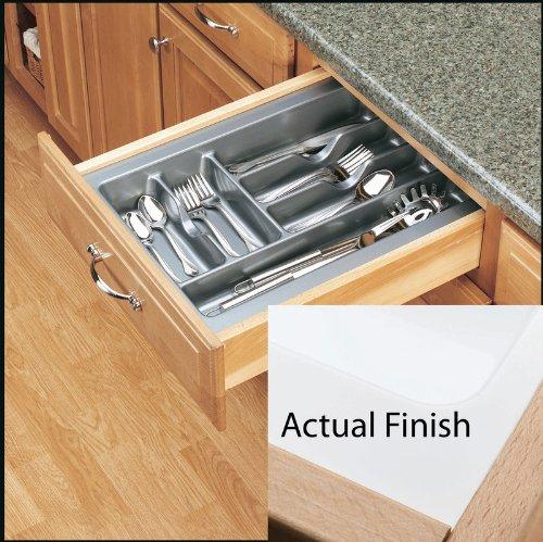 Rev-A-Shelf - GCT-2W-52 - Medium Glossy White Cutlery Tray Drawer Insert