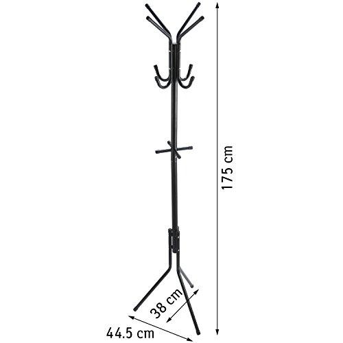 ArtMoon Root Standing Floor Clothes Hanger Coat Hanger Stand Steel 38X445X175cm