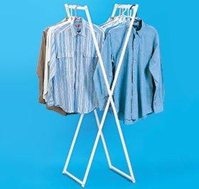 Lightweight Folding Clothes Rack