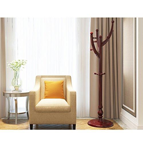 AIDELAI Coat Rack Clothes Rack Shelf Simple Modern Bedroom Hanging Clothes Rack Shelf Living Room Home Color  Brown