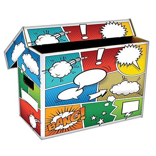 1 BCW Art POW Short Comic Storage Box - Holds 150-175 Comics - BCW-BX-SHORT-ART-POW
