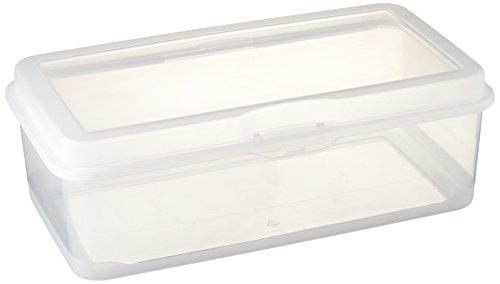 Sterilite Storage Box Flip 13 18 L x 7 58 W x 4 12 H