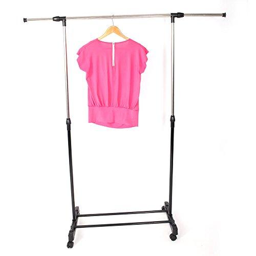KELAND US Stock Portable Cloth Garment Shelf Rack Stretching Stand Clothes Rack with Shoe Shelf type3