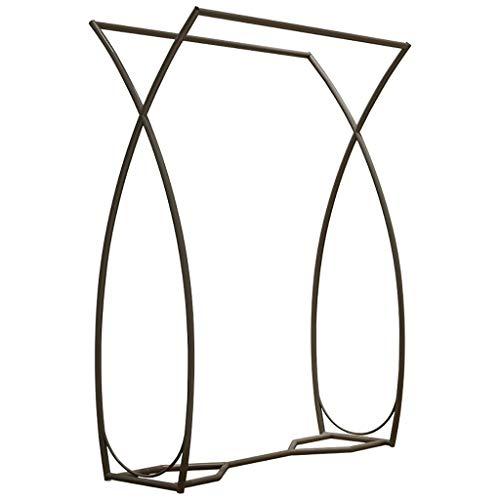 X-Shaped Clothing Display Rack StandBlack Freestanding Garment ShelfDouble Hanging Rod Clothes Rack for HouseholdRetail