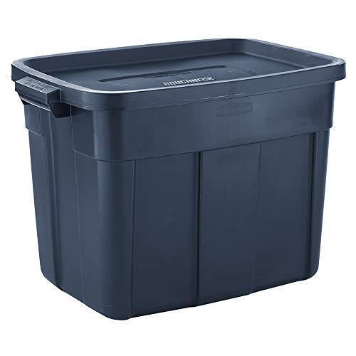 Rubbermaid Roughneck️ Storage Totes 18 Gal Pack of 6 Durable Reusable Set of Plastic Storage Bins