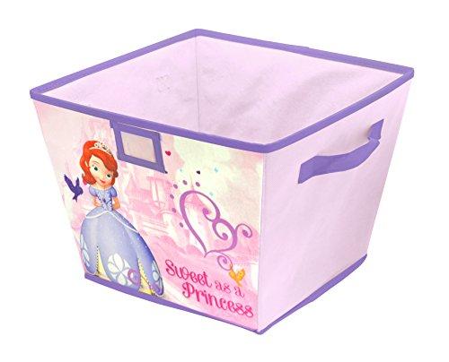 Disney Sofia the First Stackable Storage Bin 10 x 125 x 13