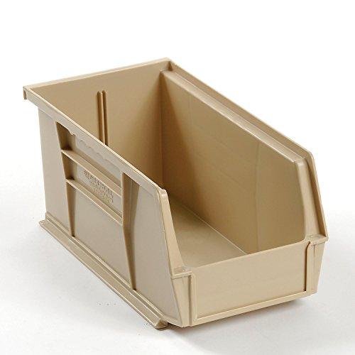 Stackable Storage Bin 5-12 X 10-78 X 5 Beige - Lot of 12