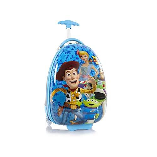 Disney Pixar Toy Story-4 Kids Luggage Hardshell Carry-on Suitcase - 18 Inch Blue