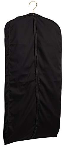 TUVAINC Tuva Breathable Black Cotton Fur CoatSuitDress Zipper Garment Bag 60x24x4