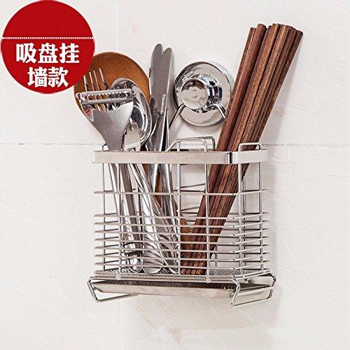 Kitchen shelf lzzfw 304 stainless steel chopsticks chopsticks shelf hanging tableware dumping water frame chopsticks basket basket water tray kitchen supplies