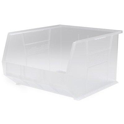 18L x 16-12W x 11H OD Clear Storage Bin 1 Bin
