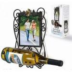 BRONZE-Wall-Hanging-Wine-Bottle-Holder-w-5x7-Frame-by-Malden-5x7-7.jpg