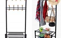 Eshion-Multi-purpose-Hat-Coat-Rack-Entryway-Storage-Valet-Clothes-Hanger-Shoe-Shelf-Organizer-Metal-Black-US-STOCK-Black-24.jpg