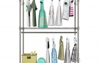 Supreme-3-Tiers-Wire-Shelving-Unit-Double-Rod-Garment-Rack-Clothes-Hanging-Rack-with-Hanger-Bar-Wheels-and-2-Pair-Side-Gray-16.jpg