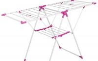 cheesea-Heavy-Duty-Foldable-Stainless-Steel-Drying-Rack-HomeWares-Clothes-Garment-Rack-Pink-US-STOCK-Pink-42.jpg