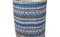 Fieans-Clothes-Storage-Bag-Washing-Clothing-Sorter-Organizer-Laundry-Basket-Bag-Nursery-Hamper-Blue-3.jpg