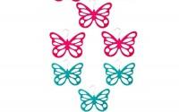 MonkeyJack-10-Piece-Butterfly-NonSlip-Flocking-Scarf-Shawl-Scarves-Ties-Belts-Clothes-Closet-Wardrobe-Holder-Rack-Hook-Hanger-Blue-and-Rose-Red-10.jpg