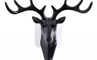 Creazy-Deer-head-Self-Adhesive-Wall-Door-Hook-Hanger-Bag-Keys-Sticky-Holder-Black-20.jpg