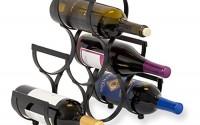 BirdRock-Home-Wine-Rack-Pyramid-Wine-Stand-Holder-6-Bottles-Black-Metal-0.jpg