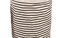 Collapsible-Ramie-Cotton-Laundry-Hamper-Folding-Lanudry-Bag-Stripe-Black-14.jpg