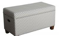 HomePop-Cameron-Storage-Bench-Gray-and-white-chevron-print-7.jpg